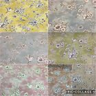 SMD iLiv FINCH TOILE Floral/Bird Cotton Fabric,Upholstery/Curtains/Cushion/Craft