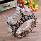 "Luxury 2 Colors Crystal Queen Crown Wedding Bridal Party Pageant Prom 5"" Wide"