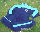 GERMAN ARMY SURPLUS ISSUE BLUE BUNDESWEHR TRACKSUITS, ZIP TOP & TRACK PANTS