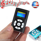 USB Mini MP3 LCD Screen Support 32GB Micro SD TF Card Media Music Player US NEW