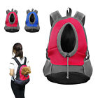Dog Carrier Bag Backpack Pet Cat Puppy Front Mesh Travel Note Bag for Small Dogs
