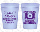 Bachelorette Party Cups Cup Favors (60100) Country, Redneck Shindig