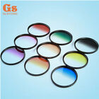 37 40.5 43 46 49 52 55 58 62 67 72 77 82mm 9 Graduated Gradual Color Filter kit