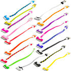 """Short Tiny 8"""" Noodle Usb Data Sync Cable Cord Charger For Iphone 4 4s 3gs Ipod"""