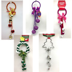 Внешний вид - Door Knob Wreaths Handle Hanger 12 inch Party Novelty Christmas Halloween New