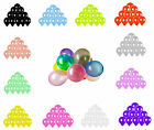 100pcs Colorful Latex Balloon 10 inch Pearl Wedding Birthday Bachelorette Party фото