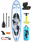 "Model II Premium Azul 10'10 x 4"" Inflatable Paddle Board + Deluxe SUP Package"