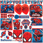 Marvel Spider-man Superhero Birthday Party Tableware Decorations Supplies Kit