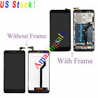 LCD Touch Screen Digitizer Assembly W/Frame For ZTE Imperial MAX Z963 Z963VL BLK