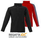 Regatta Uproar Mens Warm Backed Water-Repellent Wind Res Softshell Jacket Black