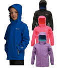 Regatta Skills Boys Girls Waterproof Breathable Lined Jacket
