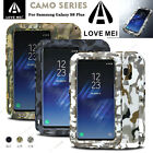 LOVE MEI Camo Defender Shockproof Armor Metal Case Cover For Samsung Galaxy S8 +