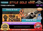 82 NEW SUPER STYLES Dance Funk & Blues Rock Yamaha Tyros 4 Only EDITION 2017