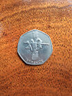 2012 London Olympics 50p fifty pence coins, rare british coin hunt, circulated