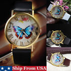 Fashion Casual Men's Women's Watches Leather Stainless Steel Quartz Wrist Watch