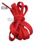 Flat Coloured Athletic Sneaker Shoe Laces strings Shoelaces Bootlaces- 80-160CM