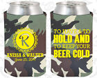 Army Camouflage Wedding Koozies Koozie Favors Gift Ideas Decorations Gifts (52)