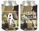 Tan Camouflage Wedding Koozies Koozie Favors Gift Ideas Decorations Gifts (97)