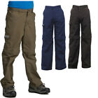 Regatta Warlock II Boys Kids Water-Repellent Technical 3/4 Length Capri Trousers