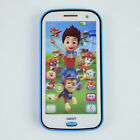 Kids Children Boy Girl PAW PATROL Figures iphone Learning Mobile Phone Toy 4 5 6