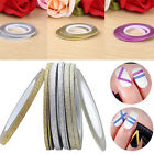 Laser Glitter Striping Tape Line Nail Art Tip Decal Beauty Decoration Sticker