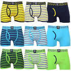 Crosshatch Mens Allsync Designer Underwear Trunks Briefs Pack Of 3 Boxer Shorts