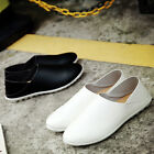Breathable Men Driving Casual Boat Shoes Leather Flats Moccasin Slip On Loafers