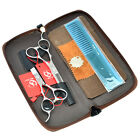 5.5 6.0inch Barber Shop Hair Scissors Set Left Handed Hairdressing Styling Tools