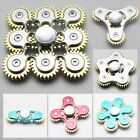 Gyro Connection Durable Gear Metal Unisex Hand Spinner Desk EDC ADHD Relief C8