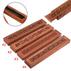 Various Wooden Wood Incense Burner Holder Ash Catcher for Sticks 22.5x4x1.8cm
