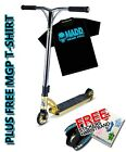 Madd Gear MGP VX7 Team Scooter Gold + Free MGP T-Shirt