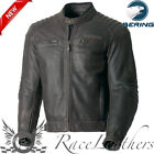 BERING CARTER CE APPROVED FULL LEATHER CASUAL RETRO STYLED MOTORCYCLE JACKET