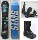NEW TRANS PIRATE SNOWBOARD, BINDINGS, BOOTS PACKAGE - 150cm