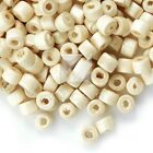 30g(Approx 700pcs) Wood Spacer Beads Donut Loose DIY Findings 3x4mm WBSET02