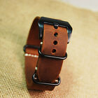Replacement Watchband For Garmin Fenix 3 Sport Watch Strap Crazy Horse Leather
