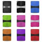 For Apple iPad Air Skin Hard Hybrid Rubber Protector Case Cover w/stand