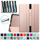 For Apple iPad Pro Smart Magentic Case Slim Shell Cover with Apple Pencil Holder