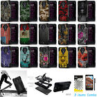 For ZTE Chapel Z831 Dual Layer Armor KickStand Skin Cover Case + Film +Pen