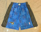 Orlando Magic Men Shorts Throwback Sports Basketball Pants Blue with Stars