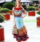 women's Occident long full length Pleated dress party ball gown evening dress