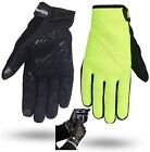 Hivis Green Neoprene Cycle Cycling Gloves Mountain bike Mittens