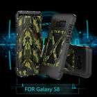 Armor King 360° Flip Metal Case Cover for Samsung Galaxy S8 S8 Plus S9 S10 Plus