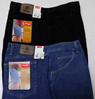 New WRANGLER Relaxed Fit 42 or 46 Black Denim Shorts Hits at Knee