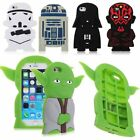 Star Wars 3D Silicone Case Cover Skin for Apple iphone 4 4s 5 5s SE 6 6s 7 Plus $5.56 CAD on eBay
