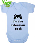 Extension pack BABY BODYSUIT GROW VEST CLOTHES FUNNY GIFT gamer xbox playstaion