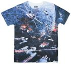 Star Wars Death Star Space Battle Double Sided Sublimation Adult T-Shirt $9.95 USD on eBay
