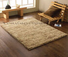 LAKELAND KENSINGTON SMALL - LARGE BEIGE CHUNKY THICK HAND KNOTTED WOOL ROCKY RUG