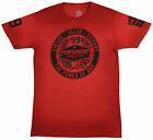 Punishment Athletics Seal Of Approval T-Shirt (Red/Black)