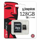 Card Memory Kingston 128GB Micro SD Type 10 Phone for Alcatel Models