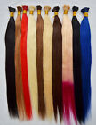 """18""""-32"""" 100S 100g Straight Stick I-Tip Bonded Fusion Remy Human Hair Extensions"""